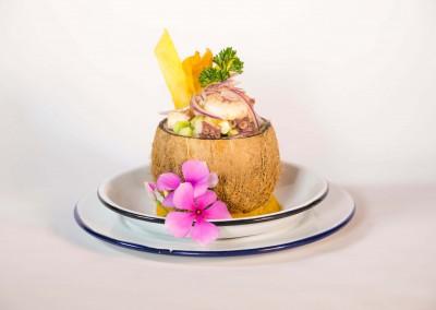 Ceviche tropical